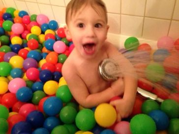 Ball Pit Cleaning